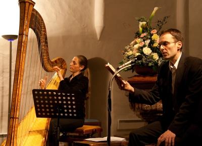 Bettina Linck und Georg Magirius in Graubünden - Foto von (c) Rüdiger Döls