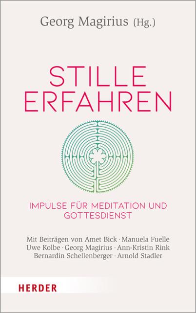 Buchcover Stille erfahren - Buch von Georg Magirius
