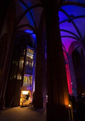 Musik bei Nacht in der Citykirche Kaiserslautern