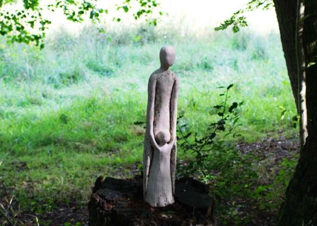 Dabei - Skulptur von Andrea Ohlsen