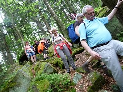 Durchs Ebersberger Felsenmeer