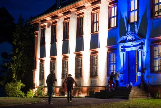 Eingang ins Schloss Kirchschönbach