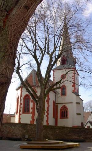 Evangelische Kirche in Ueberau im Odenwald