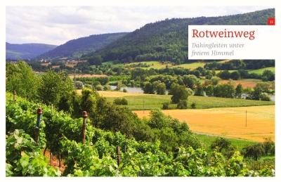 Fränkischer Rotweinweg bei Großheubach
