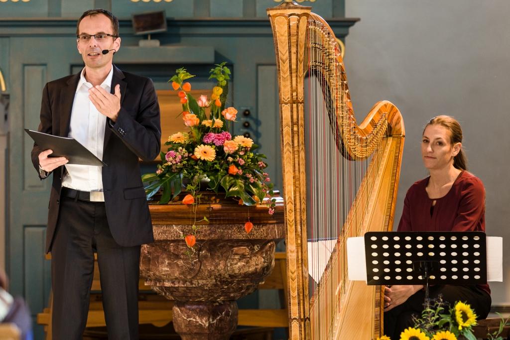 Georg Magirius und Bettina Linck Die Biblische Weinprobe in Malans in der Schweiz 2015