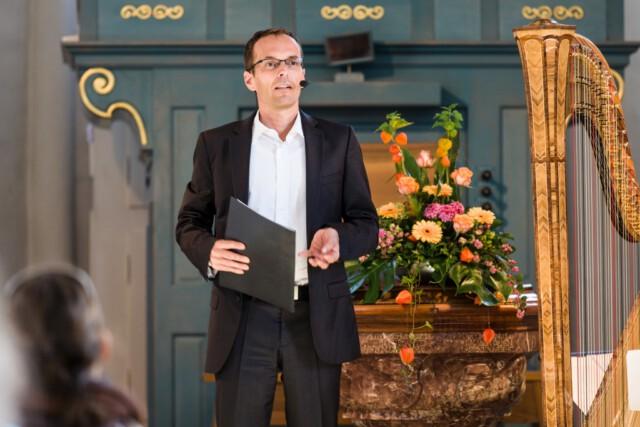 Georg Magirius Die Biblische Weinprobe in Graubünden - Weinfest Bündner Herrschaft 2015 Foto von Rüdiger Döls