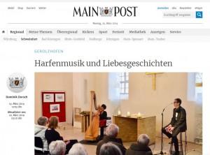 Liebesgeschichten in Gerolzhofen