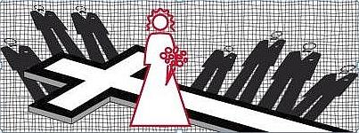 Grafik Harfe, Hochzeitsnacht und 7 tote Ehemänner