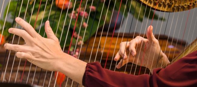 Harfenhände