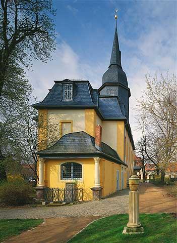 """Jakobskirche Weimar - Schauplatz der Konzertlesung """"Mutig in Weimar"""""""