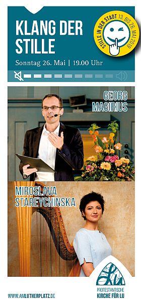 Klanglesung mit Miroslava Stareychinska und Georg Magirius