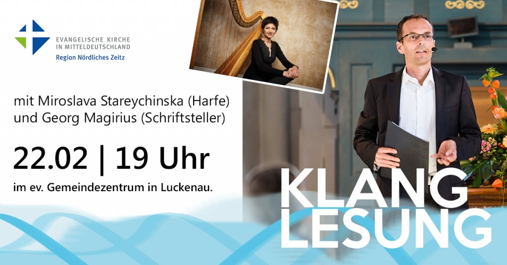 Klanglesung mit Georg Magirius und Miroslava Stareychinska in Zeitz