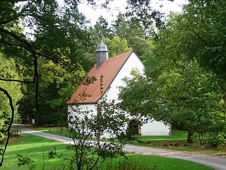 Kreuzkapelle bei Frammersbach im Wald - Foto von Georg Magirius