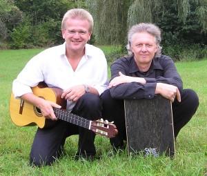 Liedermacher-Duo Sternenstaub mit Ralf Grombacher und Wolfgang Prieß