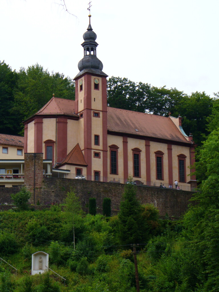 Wallfahrtskirche Mariabuchen bei Lohr am Main