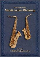 Musik in der Dichtung Buchcover Ulrich Dönnges Band zwei