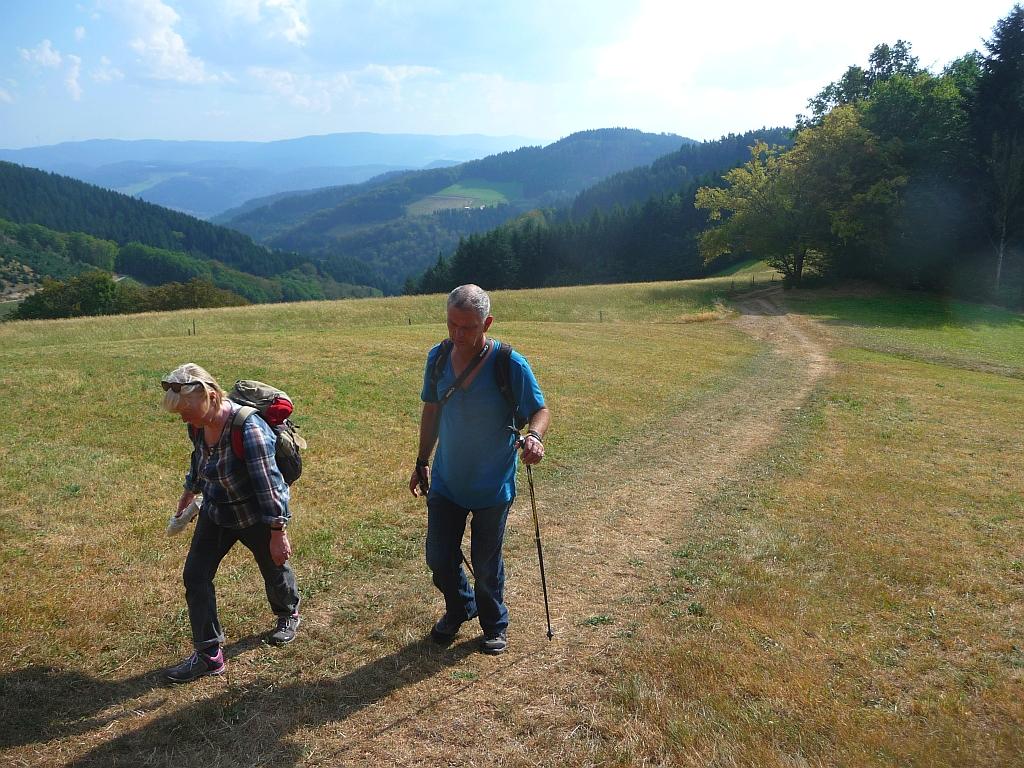 Pilgern für Aufsteiger - Tour der Reihe GangART über das Niller Eck im Schwarzwald
