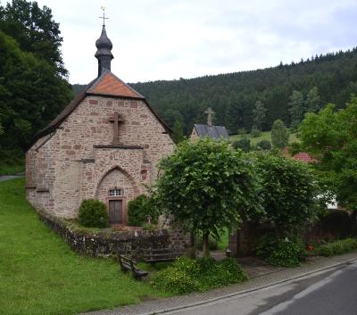 Quellkirche Schöllenbach Foto von © Hartmann Linge, Wikimedia Commons, CC-by-sa 3.0