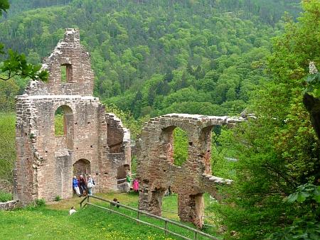 Ruine Collenburg im Spessart. Auferstanden in Ruinen. Foto von Georg Magirius