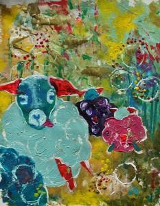 Schafe in Haßloch (c) Verena Grund Rüsselsheim