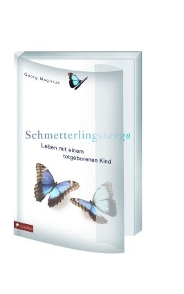Buchcover mit transparenten Schutzumschlag des Buches Schmetterlingstango