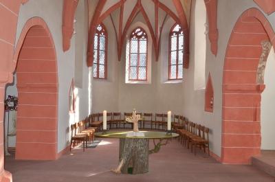 Ev. Kirche Ueberau Foto (c) Tim Besserer