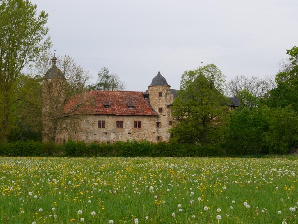 Wasserschloss Irmelshausen Foto von Georg Magirius