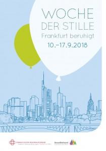 Woche der Stille Frankfurt 2018 Deckblatt Programmheft