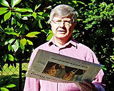 Dieter Wunderlich - Autor des Buches Unerchrockene Frauen