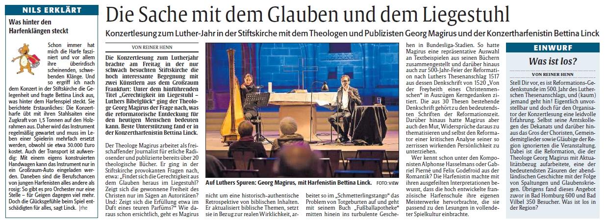Reformationsauftakt in Kaiserslautern 2017
