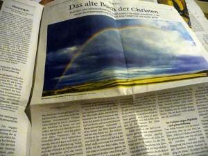Ein Bogen im Himmel