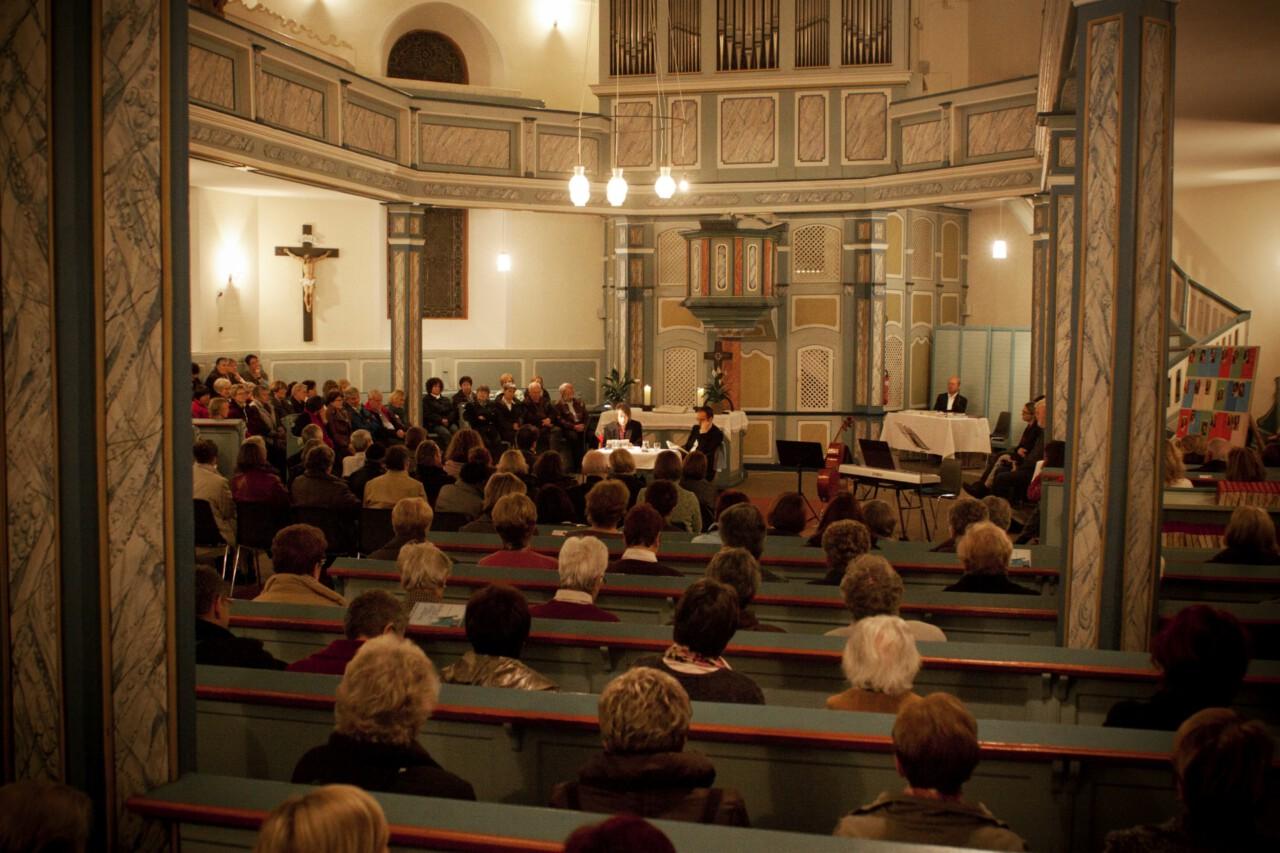 Aufruhr im Ried - Evangelische Kirche in Biebesheim mit Gabriele Wohmann und Georg Magirius