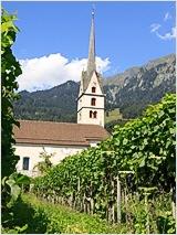 Reformierte Kirche in Malans - Foto: Rüdiger Döls