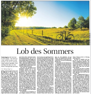 Lob der Langeweile - Eine Betrachtung über die spirituelle Dimension des Sommers