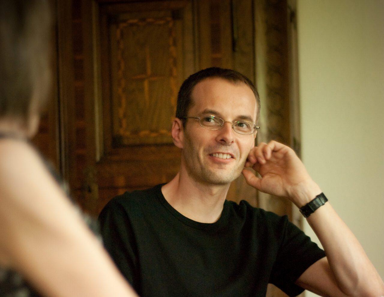 Der Theologe und Schriftsteller Georg Magirius bricht laut Gabriele Wohmann das letzte Tabu - Foto von Jule Kühn