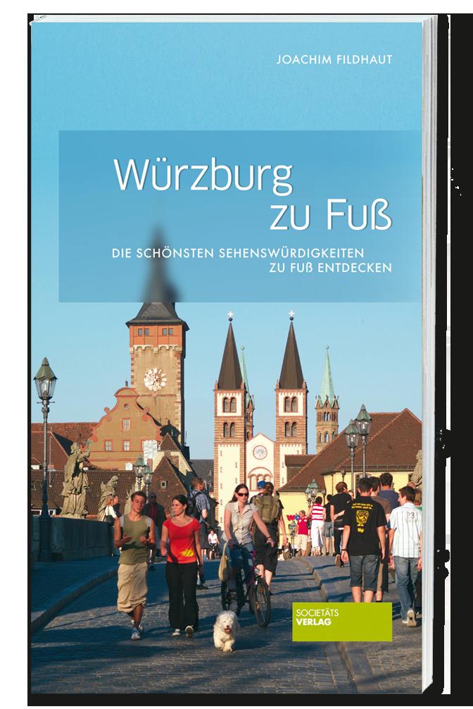 """Cover des Buches """"Würzburg zu Fuß"""""""